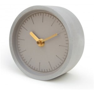 Image of   Grey Concrete Clock