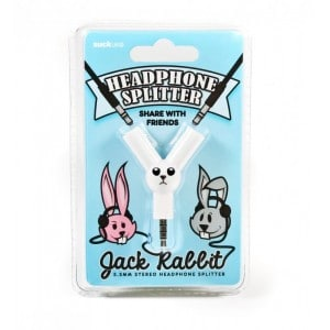 Image of   Jack Rabbit Headphone Splitter