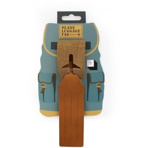 Image of   Leather Luggage Tag