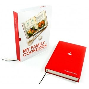 Suck UK - My Family Cook Book Red