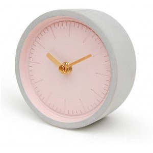 Image of   Pink Concrete Clock