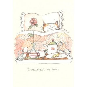Image of   Greeting Card, Breakfast In
