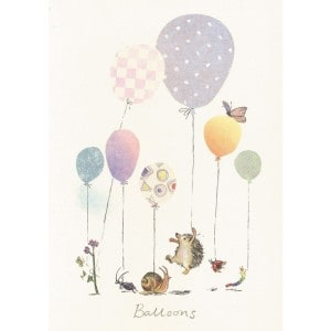 Image of   Greeting Cards Balloons