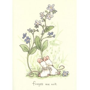 Image of   Greeting Cards Forget Me Not