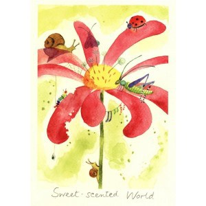 Image of   Greeting Cards Sweet-scented