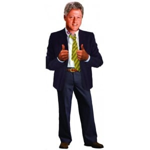 Image of   Card Bill Clinton