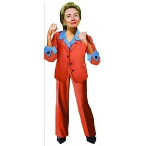 Image of   Card Hillary Clinton